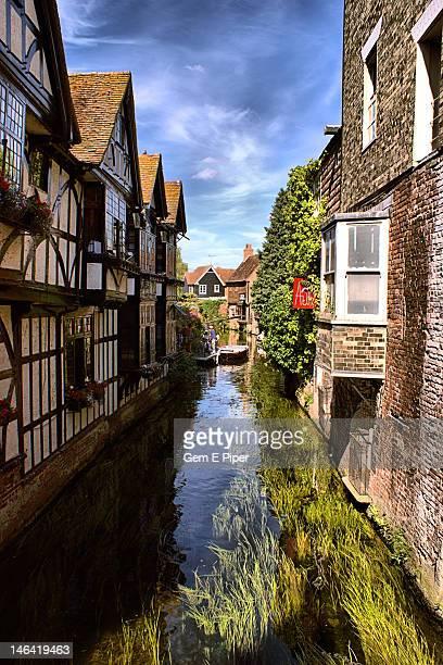 River Stour in Canterbury, Kent