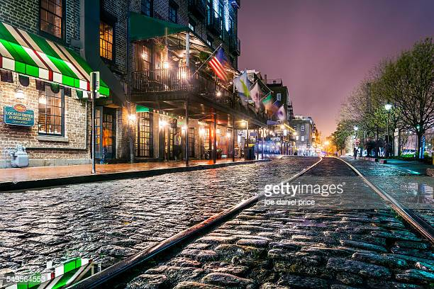 River Street, Savannah, Georgia, America