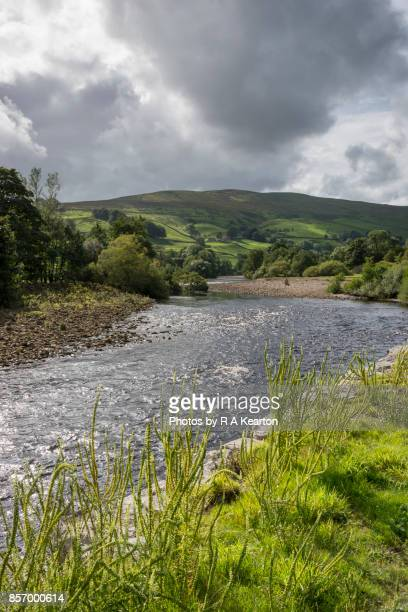 River Swale at Crackpot in Swaledale, Yorkshire Dales, England