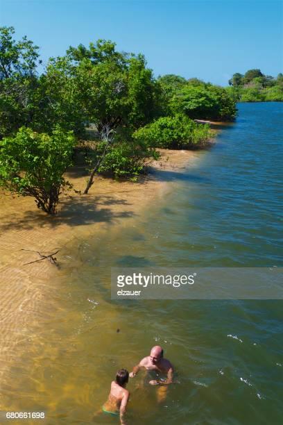River Tapajós in Alter do Chao