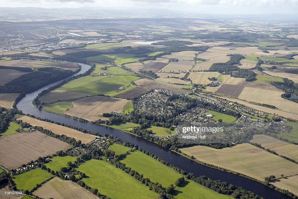 River  Tay and Luncarty, Perth, Scotland