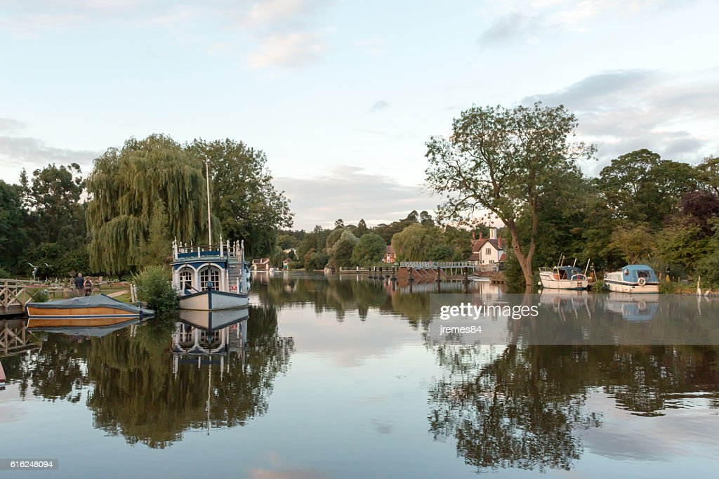 River Thames : Stock Photo