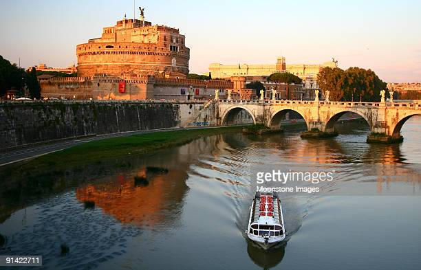 River view of Castel Sant Angelo