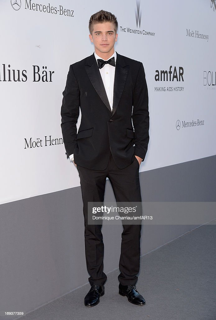 River Viiperi attends amfAR's 20th Annual Cinema Against AIDS during The 66th Annual Cannes Film Festival at Hotel du Cap-Eden-Roc on May 23, 2013 in Cap d'Antibes, France.