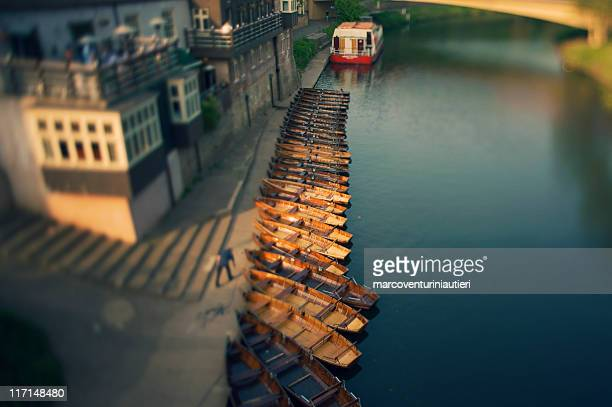 River Wear boats, Durham - English landmark