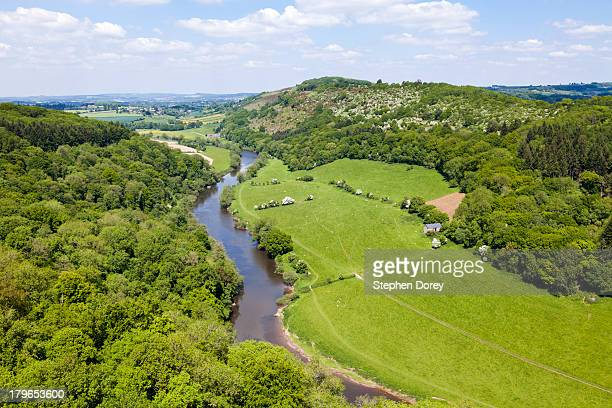 River Wye from Symonds Yat Rock viewpoint, UK