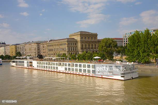 Riverboat on Danube in Budapest, Hungary