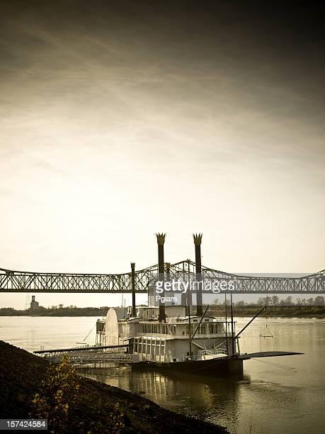 Riverboat auf dem Mississippi