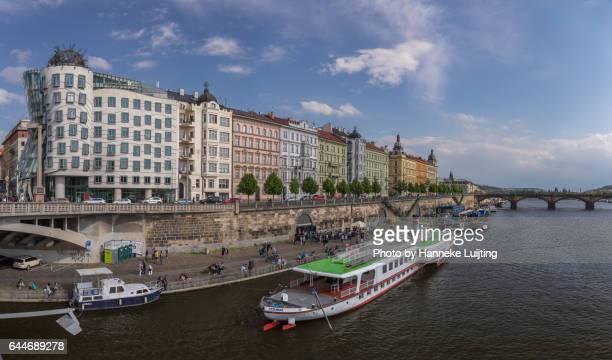 Riverside Panorama of Prague