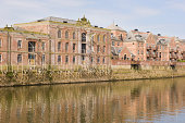 """""""A row of riverside properties on the River Ouse in York, England on a fine Spring day."""""""