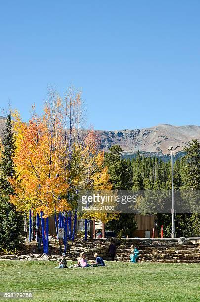 Riverwalk and the Blue River Plaza: Breckenridge, Colorado