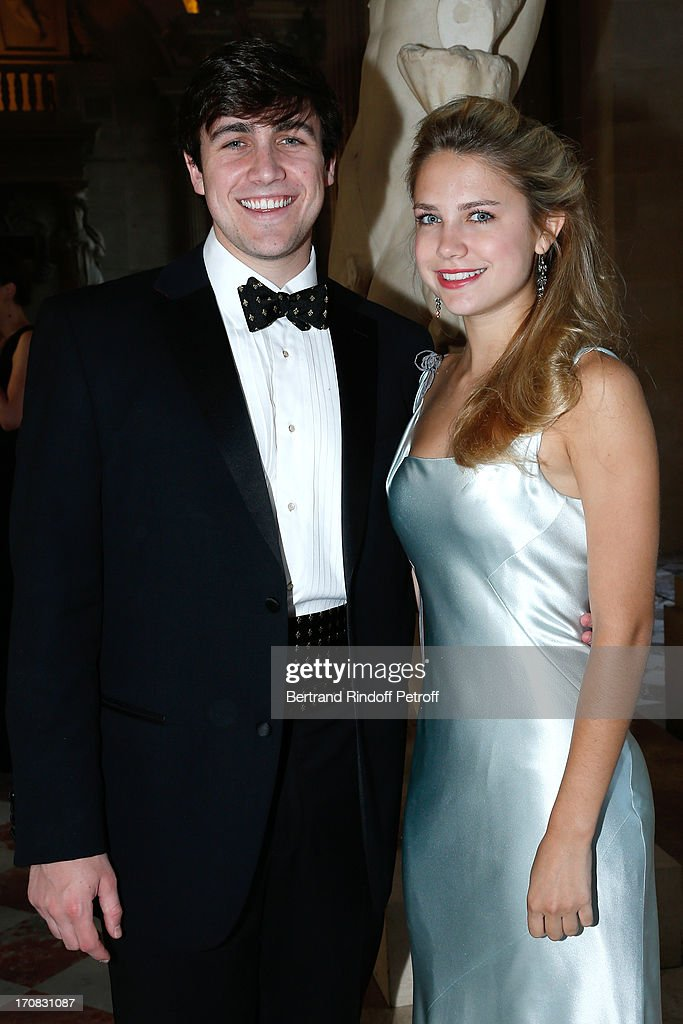 Rives Cary and sister Grace Catherine Cary attend 'Liaisons Au Louvre III' Charity Gala Dinner Hosted by American International Friends of Le Louvre at Cour Carree du Louvre on June 18, 2013 in Paris, France.