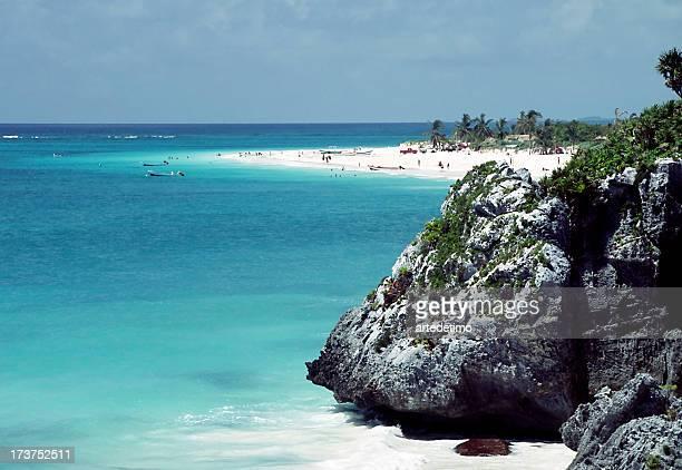 Plage Riviera Maya à Tulum Mexique 2