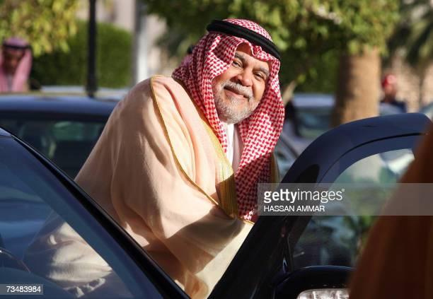 Prince Bandar bin Sultan bin Abdul Aziz alSaud Saudi national security council secretary general and former Saudi ambassador to the United States...