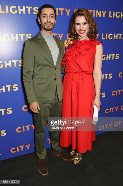 Riz Ahmed and Billie Piper attend a photocall for 'City Of Tiny Lights' at the BFI Southbank on March 28 2017 in London England