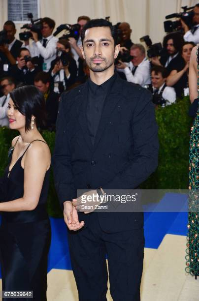 Riz Ahmed arrives at 'Rei Kawakubo/Comme des Garcons Art Of The InBetween' Costume Institute Gala at The Metropolitan Museum on May 1 2017 in New...