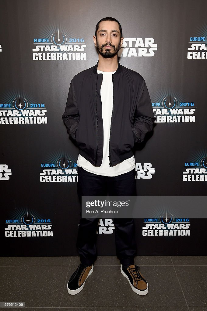Riz Ahmed at the Star Wars Celebration at ExCel on July 15, 2016 in London, England.
