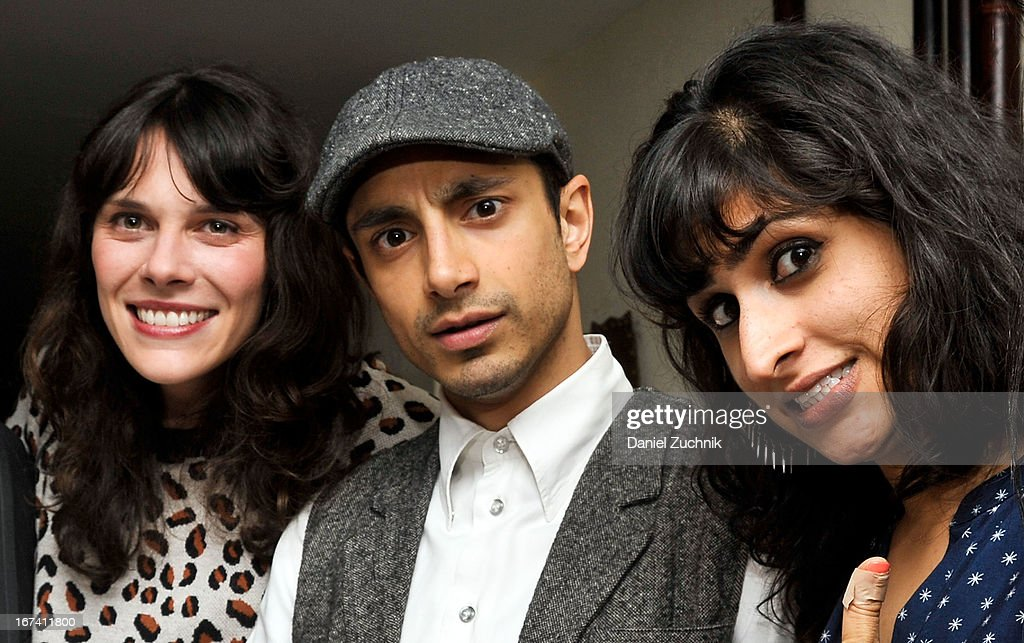 Riz Ahmed(C) attends the after party following 'The Reluctant Fundamentalist' screening during the 2013 New York Indian Film Festival at Yuva on April 24, 2013 in New York City.