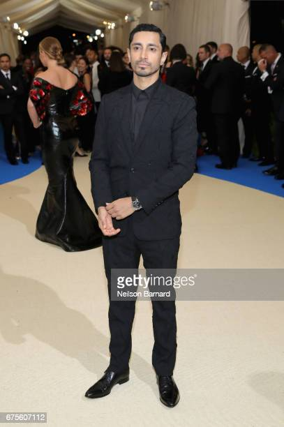 Riz Ahmed attends the 'Rei Kawakubo/Comme des Garcons Art Of The InBetween' Costume Institute Gala at Metropolitan Museum of Art on May 1 2017 in New...