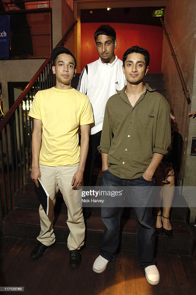 Riz Ahmed, Farhad Harun and Arfan Usman from the film The Road to Guantanamo
