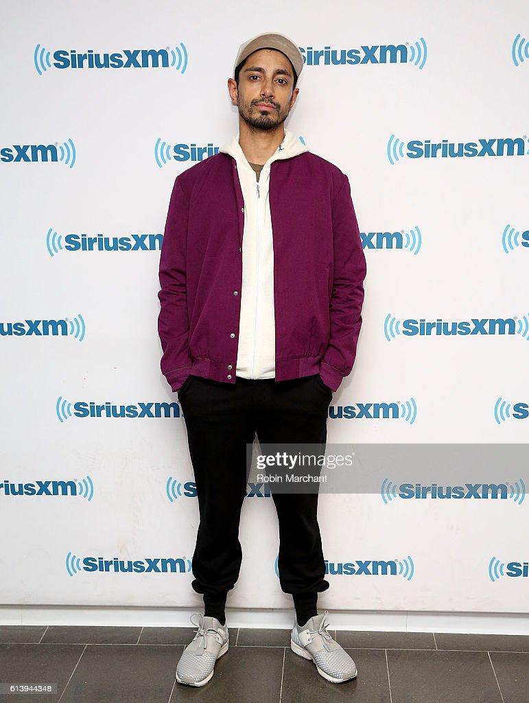 Riz Ahmed visits at SiriusXM Studio on October 11, 2016 in New York City.