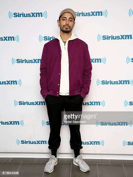 Riz Ahmed visits at SiriusXM Studio on October 11 2016 in New York City