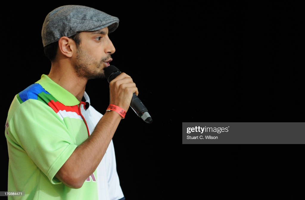 Riz MC performing at agit8 at Tate Modern, ONE's campaign ahead of the G8 on June 12, 2013 in London, England.