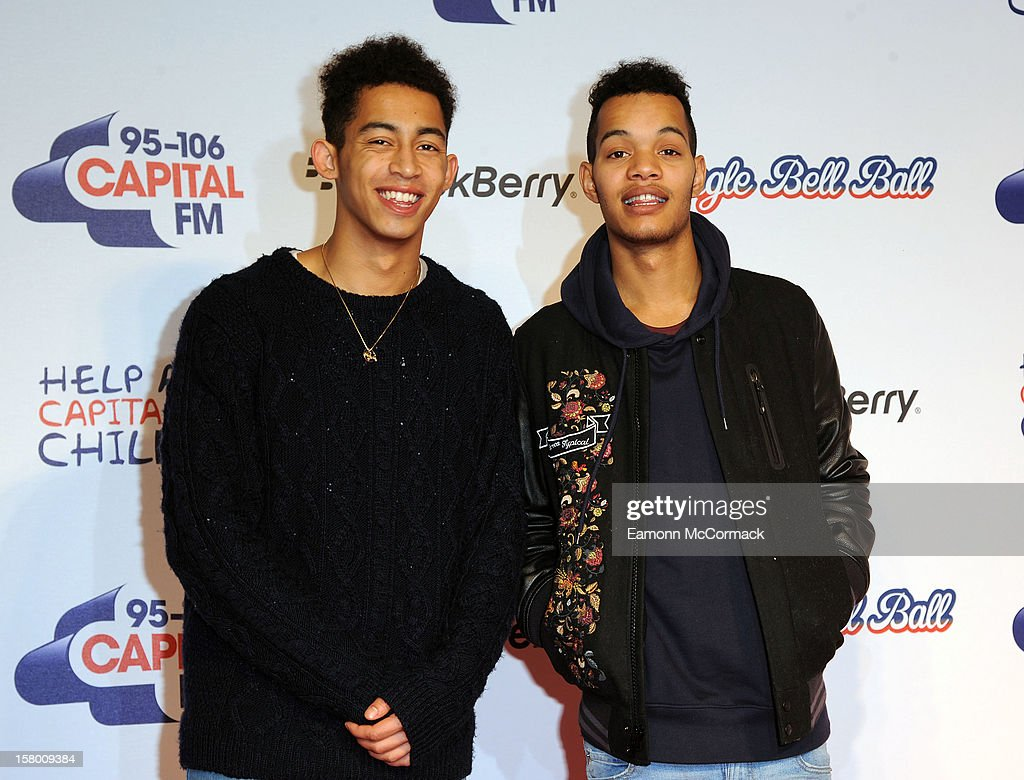 Rizzle Kicks attend the Capital FM Jingle Bell Ball at 02 Arena on December 8, 2012 in London, England.