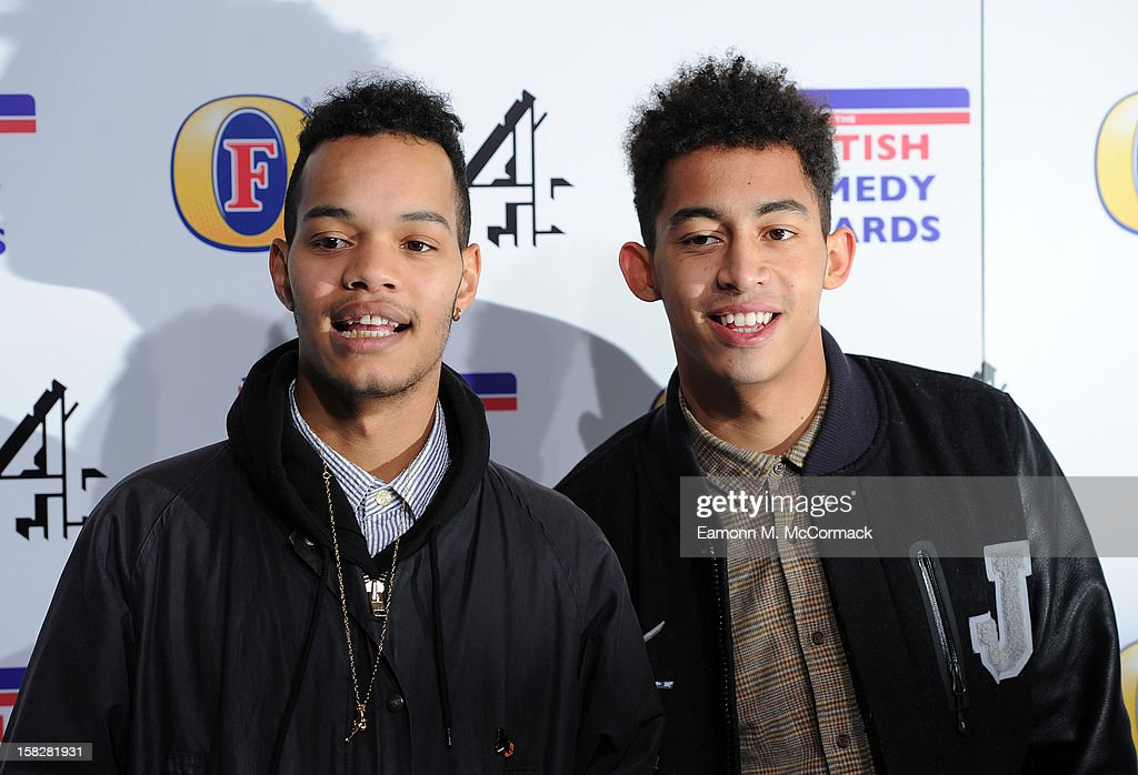 <a gi-track='captionPersonalityLinkClicked' href=/galleries/search?phrase=Rizzle+Kicks&family=editorial&specificpeople=7996073 ng-click='$event.stopPropagation()'>Rizzle Kicks</a> attends the British Comedy Awards at Fountain Studios on December 12, 2012 in London, England.