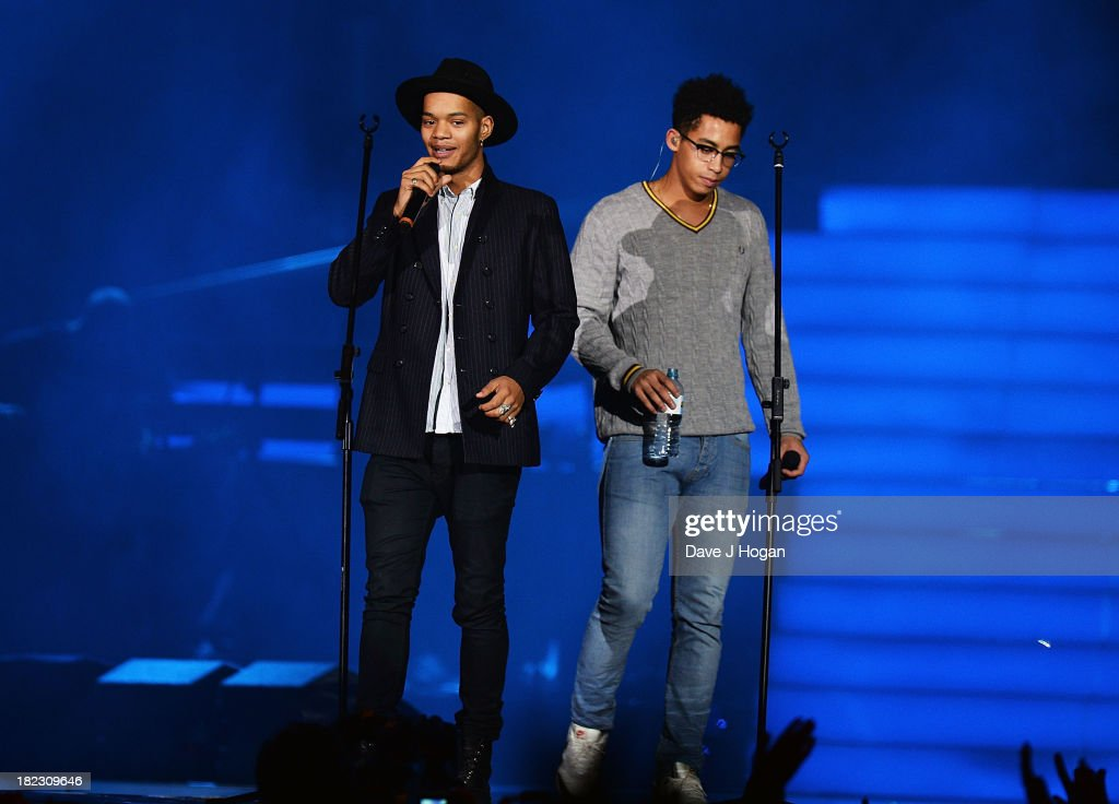 Rizzle Kicks performs at 'Unity: A Concert For Stephen Lawrence' in aid of The Stephen Lawrence Charitable Trust at the O2 Arena on September 29, 2013 in London, England.