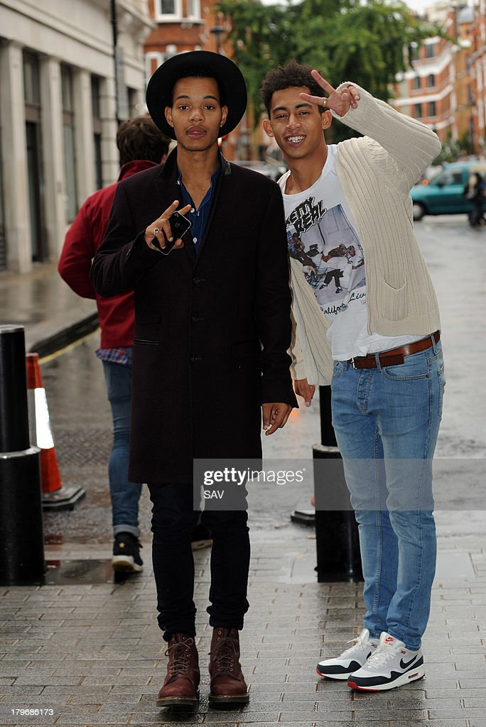 Rizzle Kicks pictured at the BBC on September 6, 2013 in London, England.