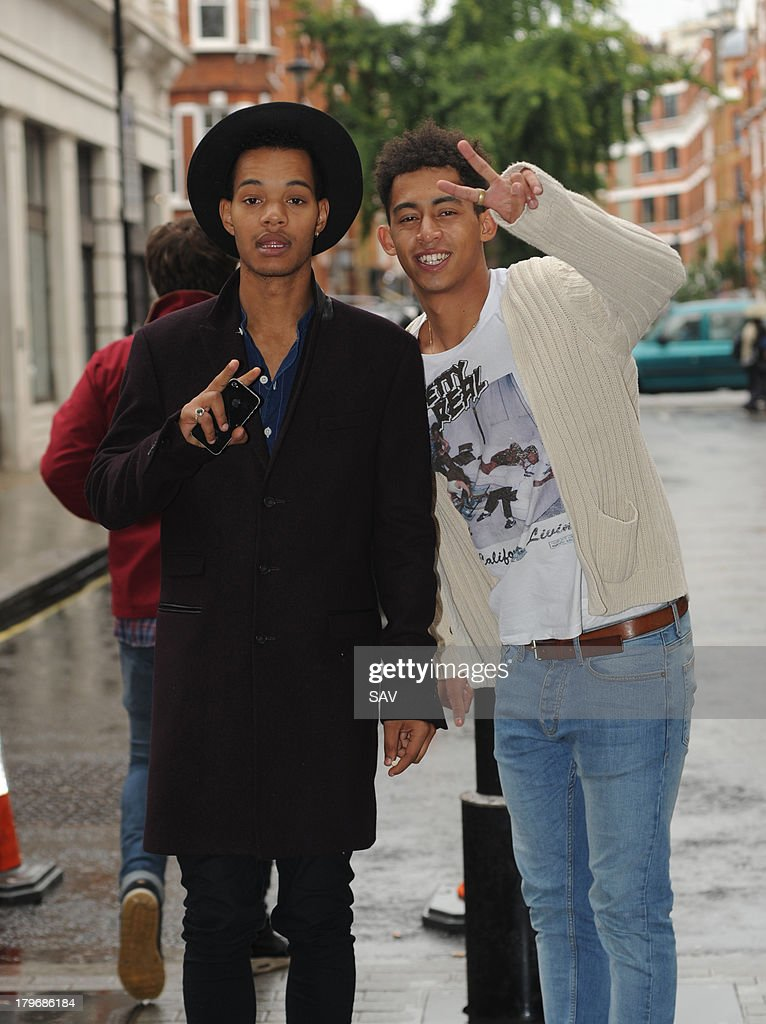 <a gi-track='captionPersonalityLinkClicked' href=/galleries/search?phrase=Rizzle+Kicks&family=editorial&specificpeople=7996073 ng-click='$event.stopPropagation()'>Rizzle Kicks</a> pictured at the BBC on September 6, 2013 in London, England.