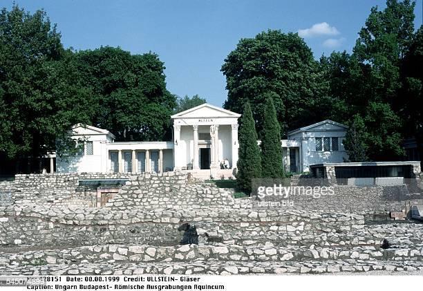 Römische Ausgrabungen Aquincum 1999
