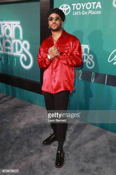 Ro James attends the 2017 Soul Train Awards presented by BET at the Orleans Arena on November 5 2017 in Las Vegas Nevada