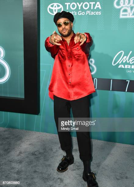 Ro James attends the 2017 Soul Train Music Awards at the Orleans Arena on November 5 2017 in Las Vegas Nevada