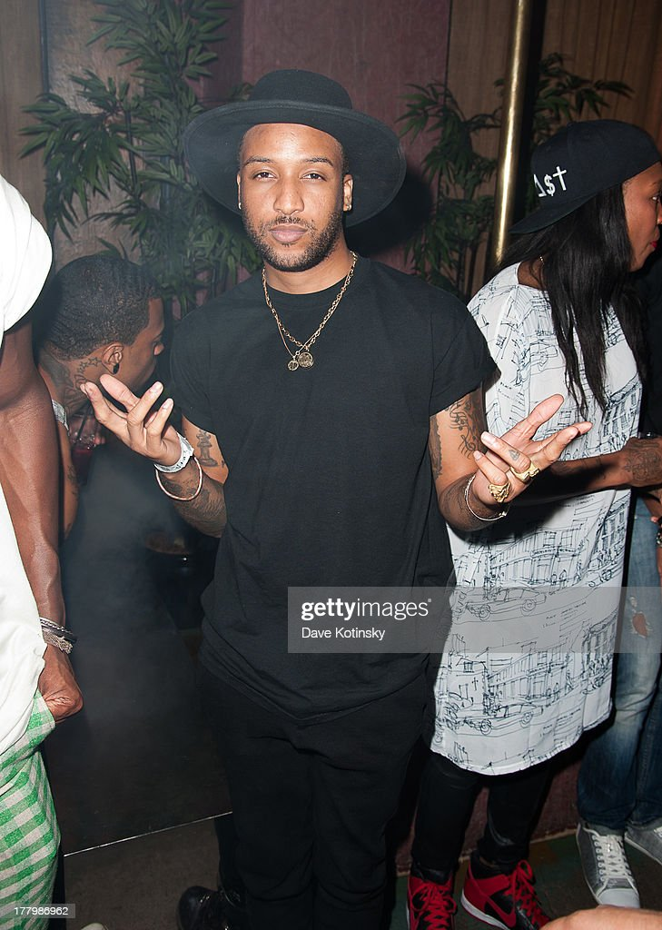 Ro James attends the MTV VMAs After Party at Mister H on August 25, 2013 in New York City.