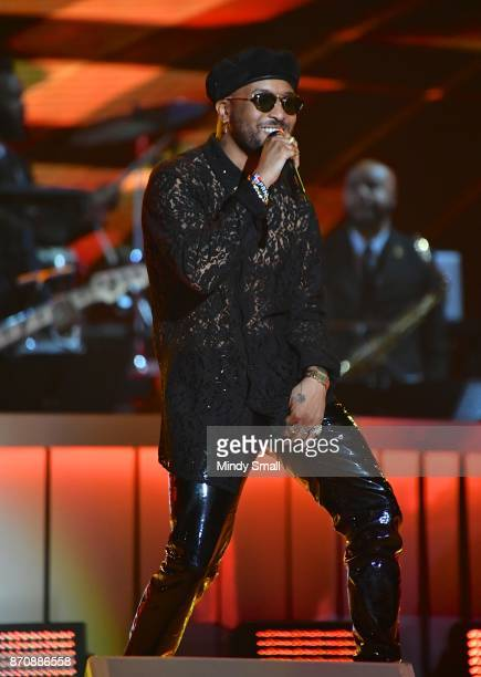 Ro James performs during the 2017 Soul Train Music Awards at the Orleans Arena on November 5 2017 in Las Vegas Nevada