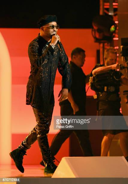 Ro James performs onstage at the 2017 Soul Train Awards presented by BET at the Orleans Arena on November 5 2017 in Las Vegas Nevada