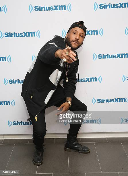 Ro James visits at SiriusXM Studio on June 14 2016 in New York City