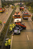 Road accident, England