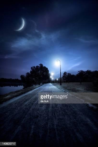 Road 夜の