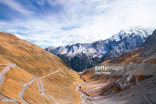 Road at Stelvio Pass, Italy