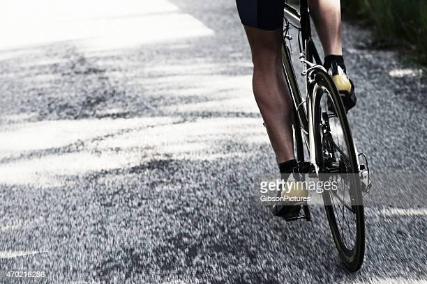 Straße Radfahren Fahrer
