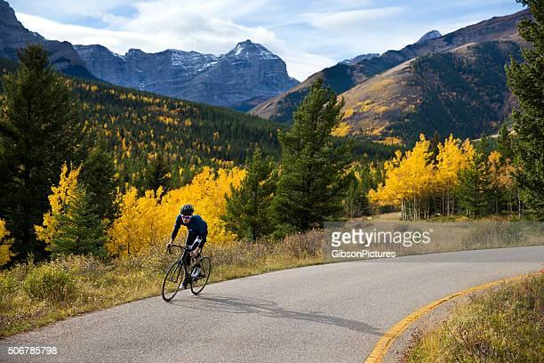 Strada Bicyclist uomo
