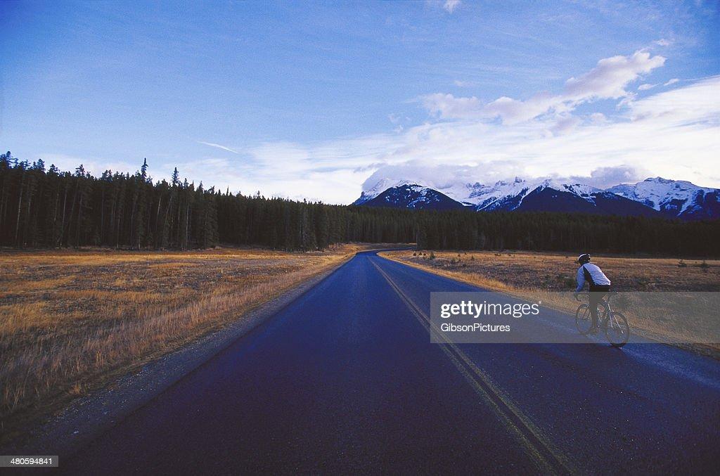Road Bike Girl : Stock Photo