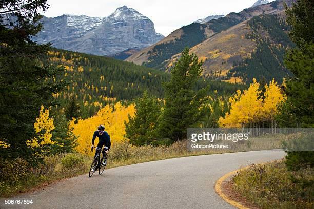 Strada bici ciclista