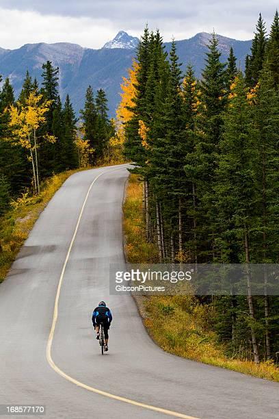 Road Biking in Banff National Park