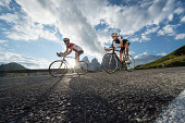 Road biking without words