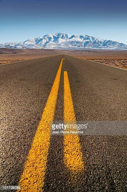 road Death Valley California USA
