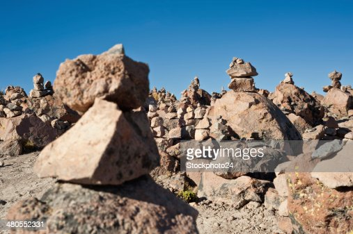 Ruta de Arequipa a Chivay : Foto de stock